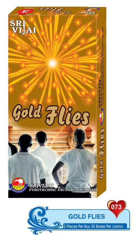 GOLD FLIES (3PCS)